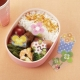 Microwavable Bento Baran Food Divider Sheet Set Flower