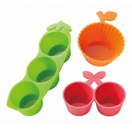 Microwavable Bento Silicone Food Cup 3 Deluxe
