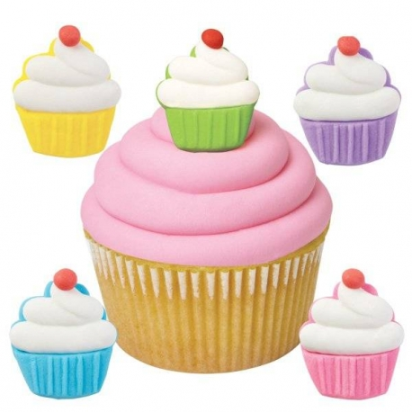 Bento Decoration Make Cute Royal Icing Cupcake 12 pcs