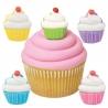 Bento Decoration Make Cute Royal Icing Cupcake 12 pcs