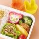 Microwavable Bento Silicone Food Cup 4 Animal