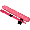Polka Dot Chopsticks with Case and strap Pink