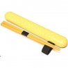 Polka Dot Chopsticks with Case and strap Yellow