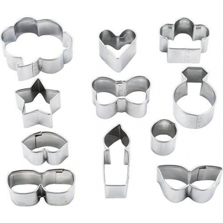 Japanese Bento Accessories Vegetable Cookie Cutter 11 shapes