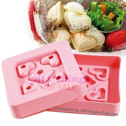 Japanese Bento Lunch Sandwich Cutter Bite Size Heart