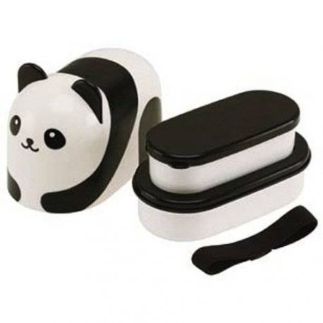2 Tier Panda Bento Lunch Box