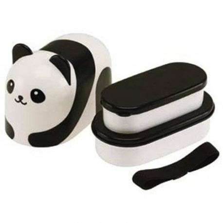 2 Tier Panda Bento Lunch Box