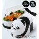 Mini 2 Tier Panda Bento Snack Box 330 ml