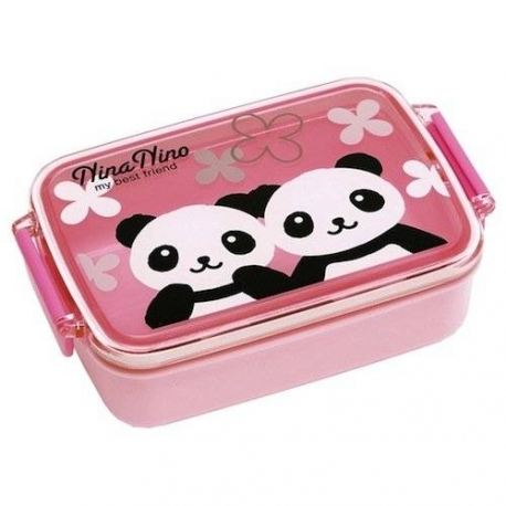 Japanese Bento Air Tight Panda Bento Pink