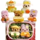 Decorative Bento Rice Mold set with Plate Cutter - Dolls