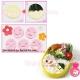 Decorative Bento Cutter Ham Cheese Cutter Set 14 Facial Expression
