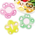 Decorative Bento Cutter Ham Cheese Cutter Set 18 Shapes
