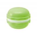 Macaroon Bento Snack Box Green