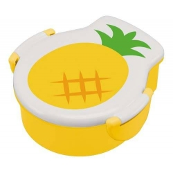 Tight Die Cut Pineapple Bento Lunch Box 500 ml