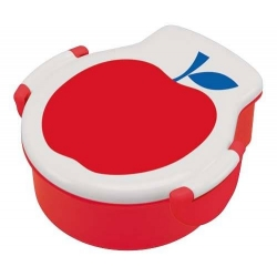 Tight Die Cut Red Apple Bento Lunch Box 500 ml