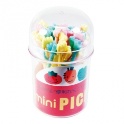 Japanese Bento Pick Cute Food Pick 40 pcs with Case