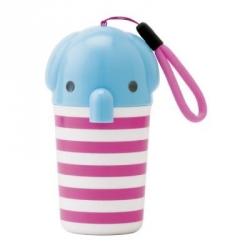 Portable Bento Oshibori Case Elephant