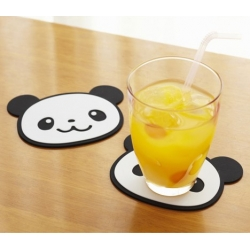 Silicone Panda Coaster set of 2