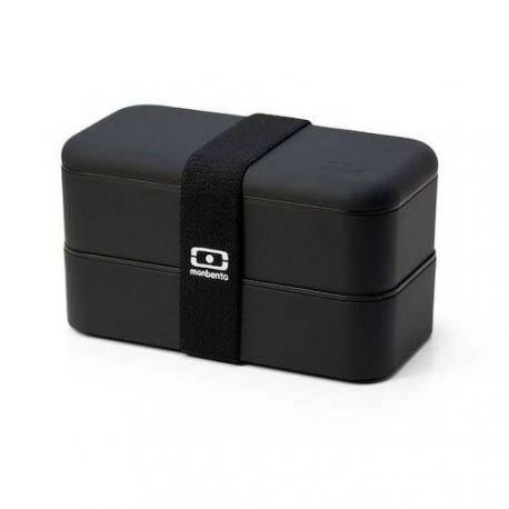 Mon bento Lunch box Black