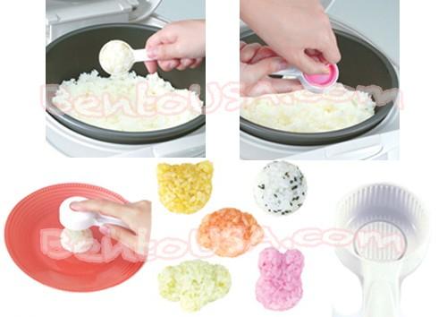 bento rice mold onigiri mould 5 animal shapes for egg mold rice. Black Bedroom Furniture Sets. Home Design Ideas