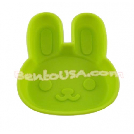 Microwavable Bento Silicone Food Cup Baking - Pink Rabbit
