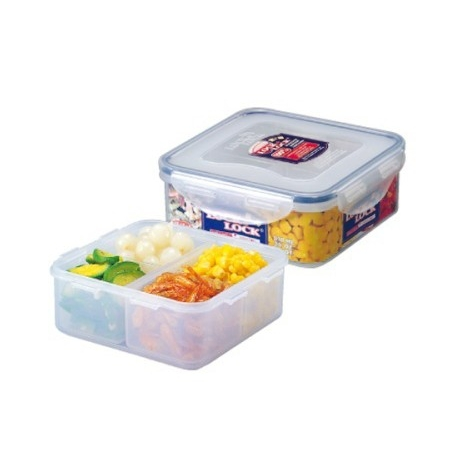 Microwavable Airtight 5-piece Bento Lunch Box BPA Free Dishwasher Safe