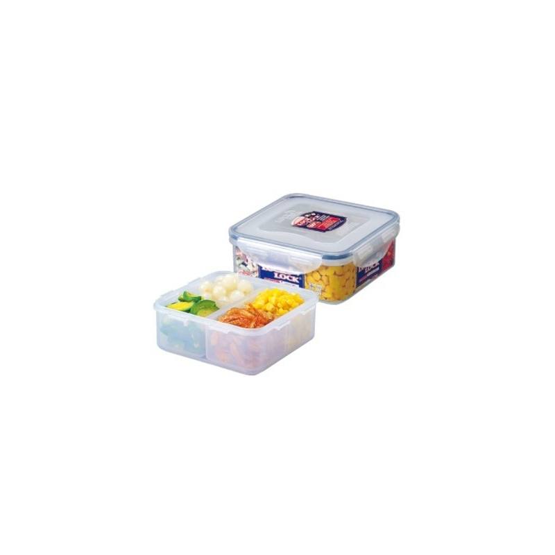 microwavable airtight 4 sections bento lunch box bpa free dishwashe. Black Bedroom Furniture Sets. Home Design Ideas