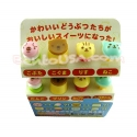 Japanese Bento Accessory Cute Face Food Pick 8 pcs dessert