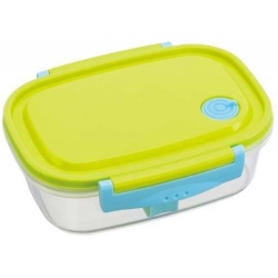 Fully Microwave Tight Bento Lunch Box Green 720 ml