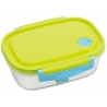 Fully Microwave Bento Lunch Box Green