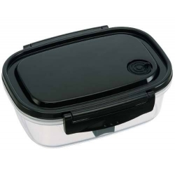 Fully Microwave Tight Bento Lunch Box Black 720 ml