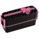 Japanese Bento Box Lunch Box Set Slim Black and Pink Bow