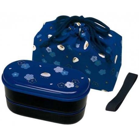 Japanese Bento Lunch Box Designer Set Slim Red Rabbit
