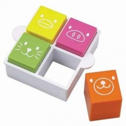 Japanese Bento Sandwich Cutter and Stamp Square