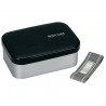 1.1L Aluminum Bento Lunch Box with Divider Black