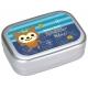 Aluminum Bento Lunch Box Fuzzy Bear