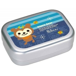 Aluminum Kids Bento Lunch Box Fuzzy Bear