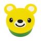 Japanese Small Bento Box Snack Yellow Bear