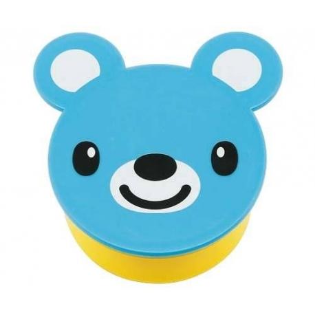 Japanese Small Bento Box Snack Blue Bear