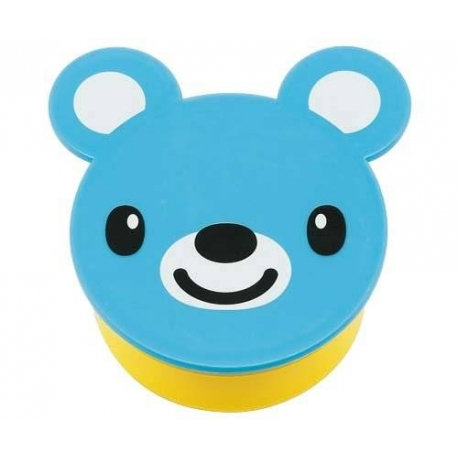 Japanese Small Bento Box Snack Blue Bear