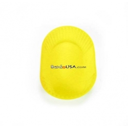 Japanese Bento Jumbo Silicone Food Cup 1 pc - Yellow