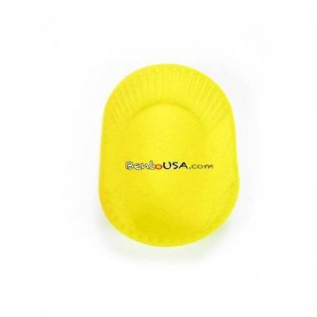 Japanese Bento Jumbo Silicone Food Cup 1 pc - Yellow