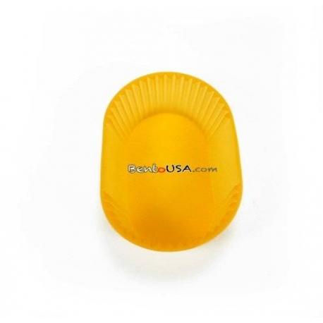 Japanese Bento Jumbo Silicone Food Cup 1 pc - Orange