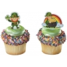 Food Decorating Pick Poly Flexi Leprechaun St Patrick