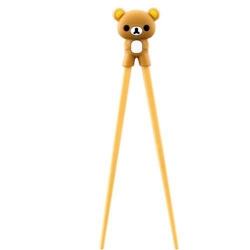 Japanese Assisted Chopsticks 3D Brown Bear