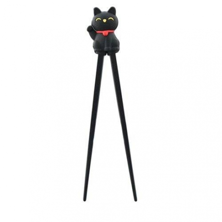 Japanese Assisted Chopsticks Silicone Lucky Cat