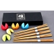 Family 5 piece Fortune Cookie Chopstick Set