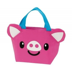 Insulated Bento Lunch Bag Die Cut Pig