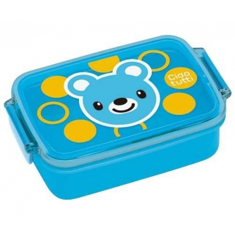 japanese air tight bento kids lunch box bear for bear and panda t. Black Bedroom Furniture Sets. Home Design Ideas