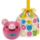Japanese 2 Tier Bento Food Container Ball Pink Pig set